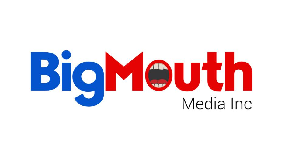This is BigMouth Media Inc's logo