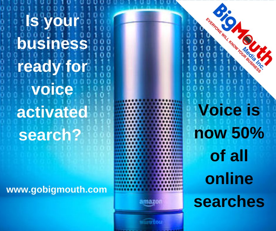 How to get to the first page of google Voice search for businesses