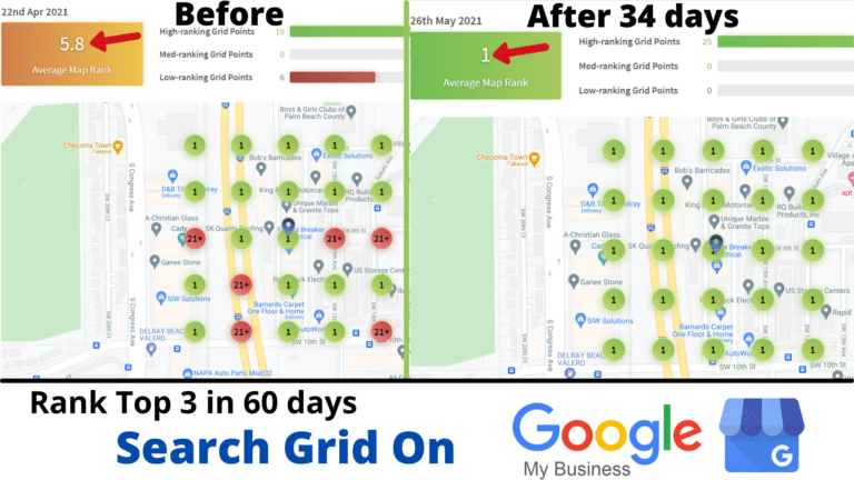 Search Grid on Google